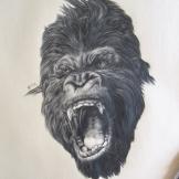 """Me-Kong"", A4, matita su carta, 2014."