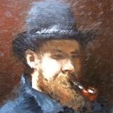 """""""Ce est una pipe"""", 18x24, olio su cartone telato, 2013."""