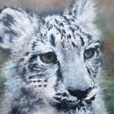 """Leo"", 18x24, olio su cartone telato, 2013."