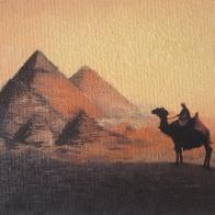 """""""Giza"""", 25x35, olio su cartone telato, 2014."""