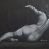 """Classica"", 50x70, gessetto su carta, 2014."